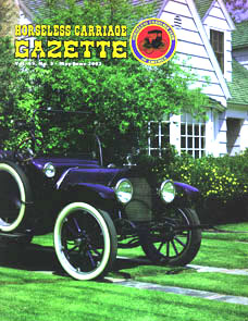 Horseless Carriage Gazette Magazine