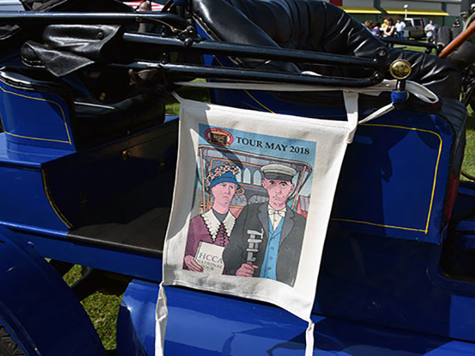 Come Tour with HCCA. Photo from the Pi2018 Horseless Carriage Club BBC (Beautiful Brass Cars) National Tour